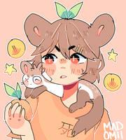 Ferret Buds by Madomii