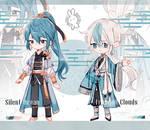 .: CLOSED SetPrice :. Oriental Blue set