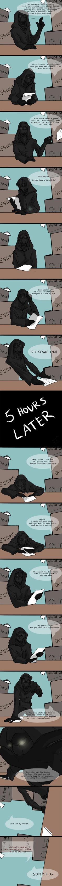 Struggles Of A Superhero by mistergleeson