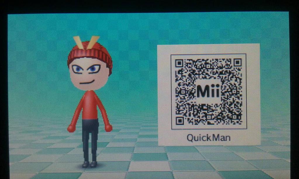 made a MII quickman by JSMRACECAR03