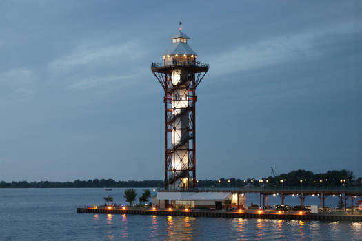 The Bicentennial Tower. Erie, PA