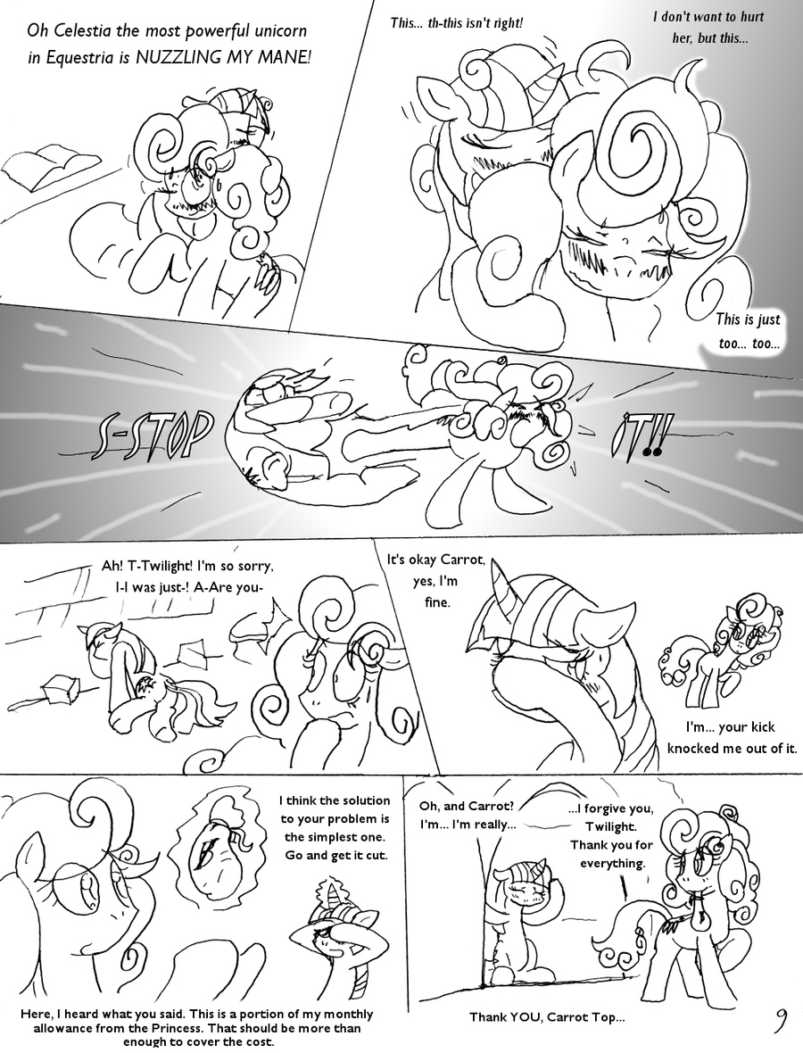 The Mane Attraction: Pg 9. by Terrichance