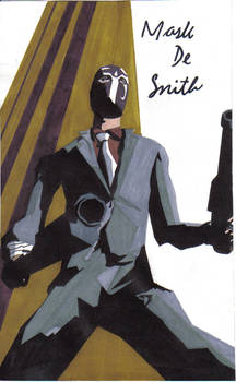 Mask De Smith-Killer 7