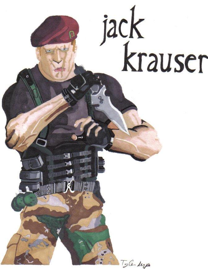 Jack Krauser by residentevilrulz
