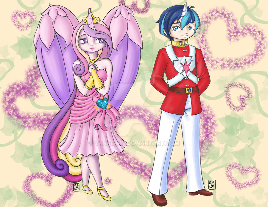 Princess Cadence and Shining Armor by Yunsildin on DeviantArt