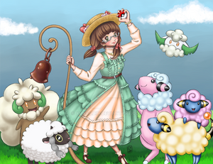 Sweet Sheep Pokemon Adventure