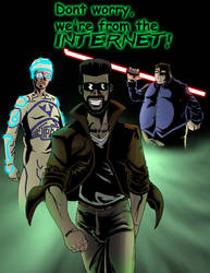 Internet Super Heroes by shadowvaporz