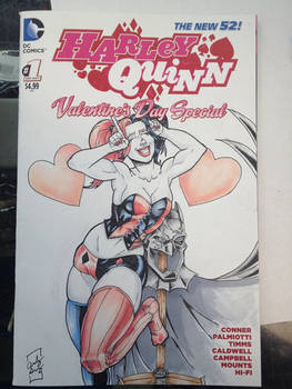 Sketch Cover Commission Harley Quinn