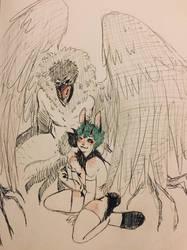 Demon OverDeku by MirandaBT