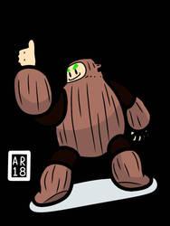 Woodman :] by KirbyMasterz