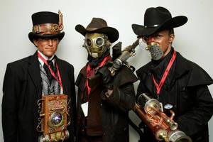 Steampunk, Comiccon by EidolonChaos