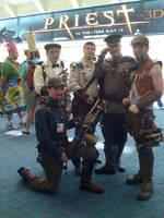 Steampunk, Comic Con, 2010 by EidolonChaos