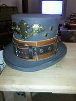 Steampunk Top hat by EidolonChaos