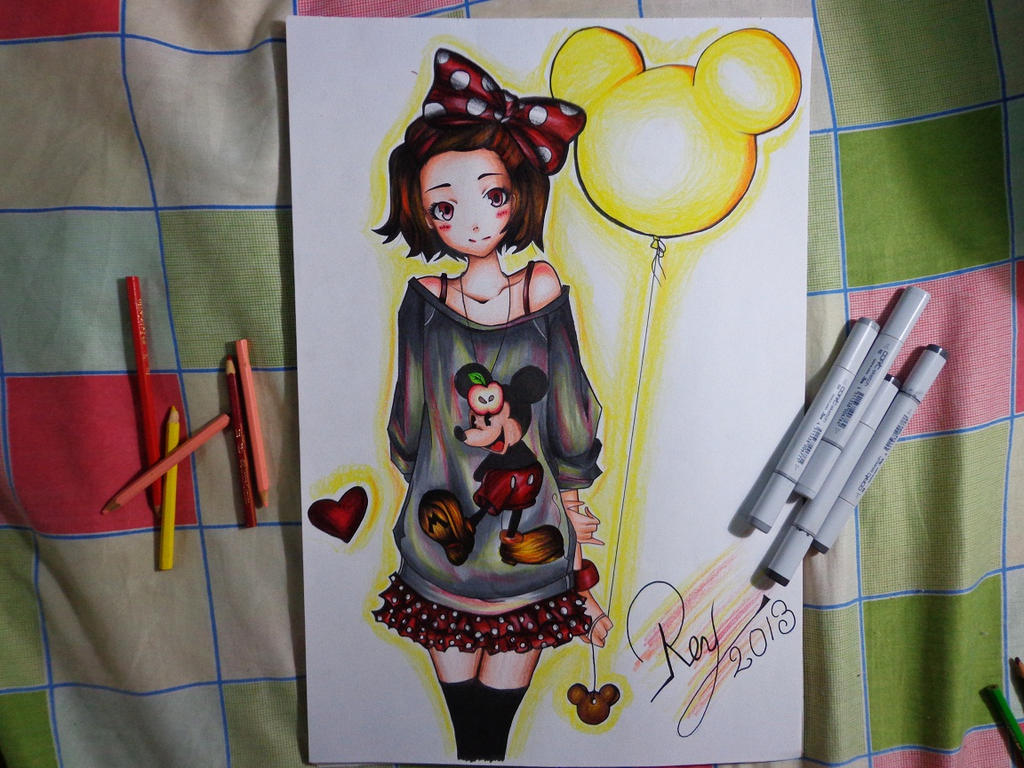 Anime Minnie Mouse Drawings