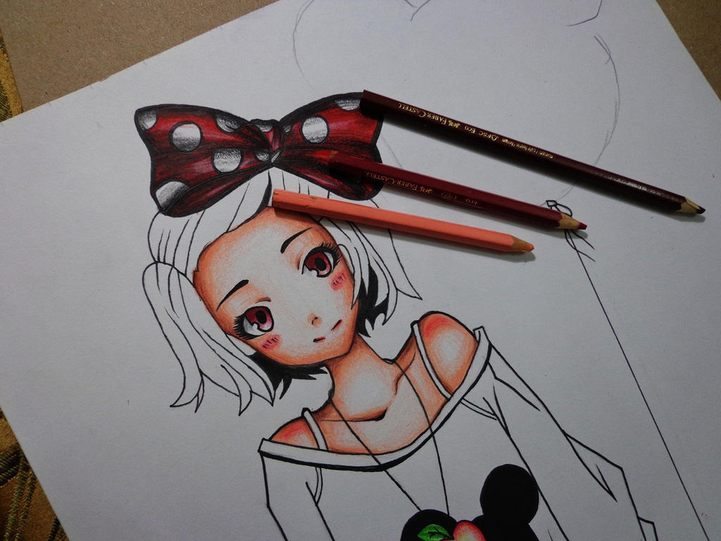 Minnie And Mickey Mouse Drawings Tumblr