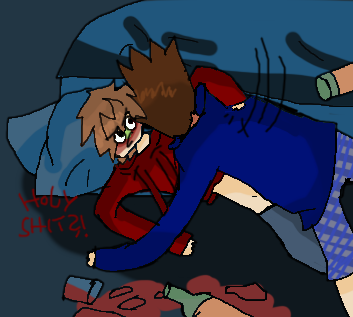That awkward moment when Tom and Tord are drunk /D by Sterensonne