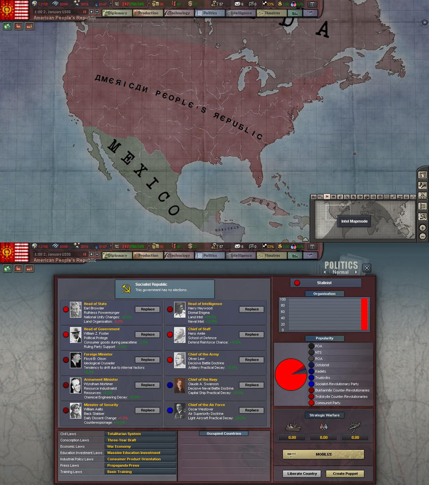 HOI American Peoples Republic By AlexFRD On DeviantArt - Peoples republic map