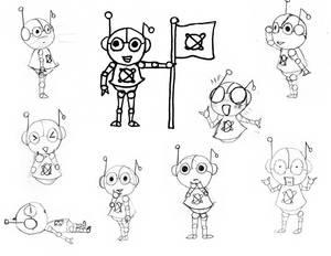 Al U. Minium - Sketches 01