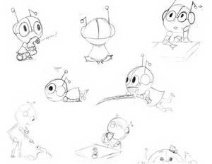Al U. Minium - Sketches 02