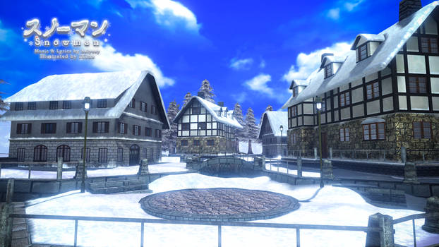 MMD PDFT Snowman Stage 2 Download