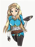Zelda : Breath of the wild by MagsDigital