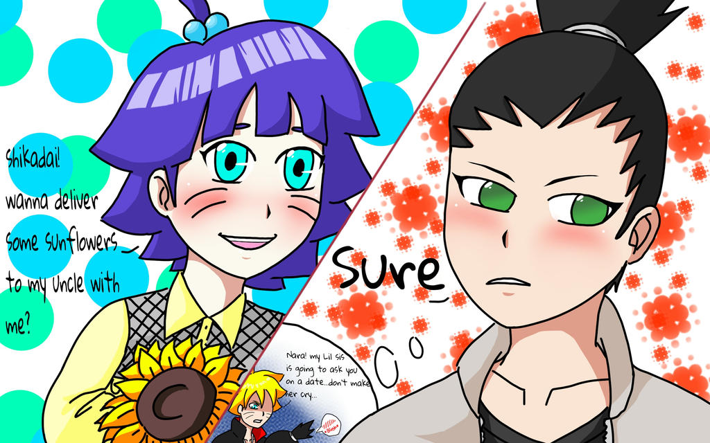 Himawari Crush by SunnyStorm143 on DeviantArt H20 Delirious Drawings