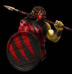 DnD - Half-orc Kane