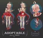 Adoptable [open] bunny girl by Yurya