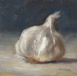 Garlic Bulb by Brandon-Schaefer