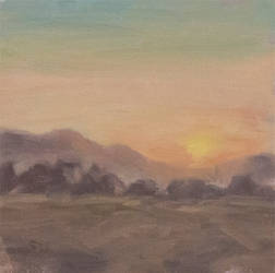 Plein Air - Sunset