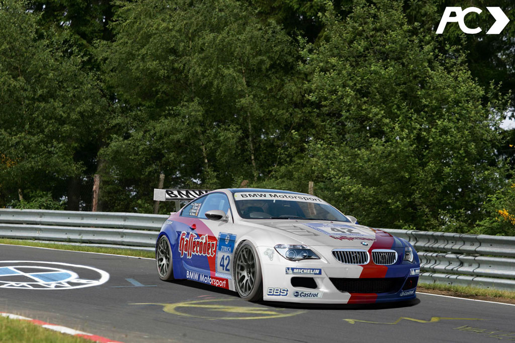 2010 BMW M6 Photos: M6 GTR