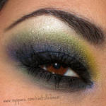 Ed Hardy Inspired Eye Makeup by anilorac186