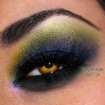 Ed Hardy Inspired Eye Makeup 2