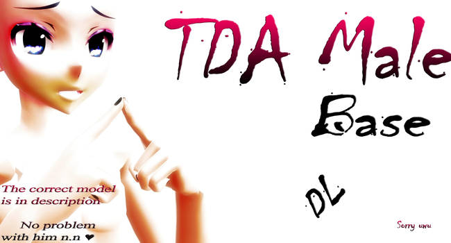 -PMX/PMD- Male Base -TDA- DL!