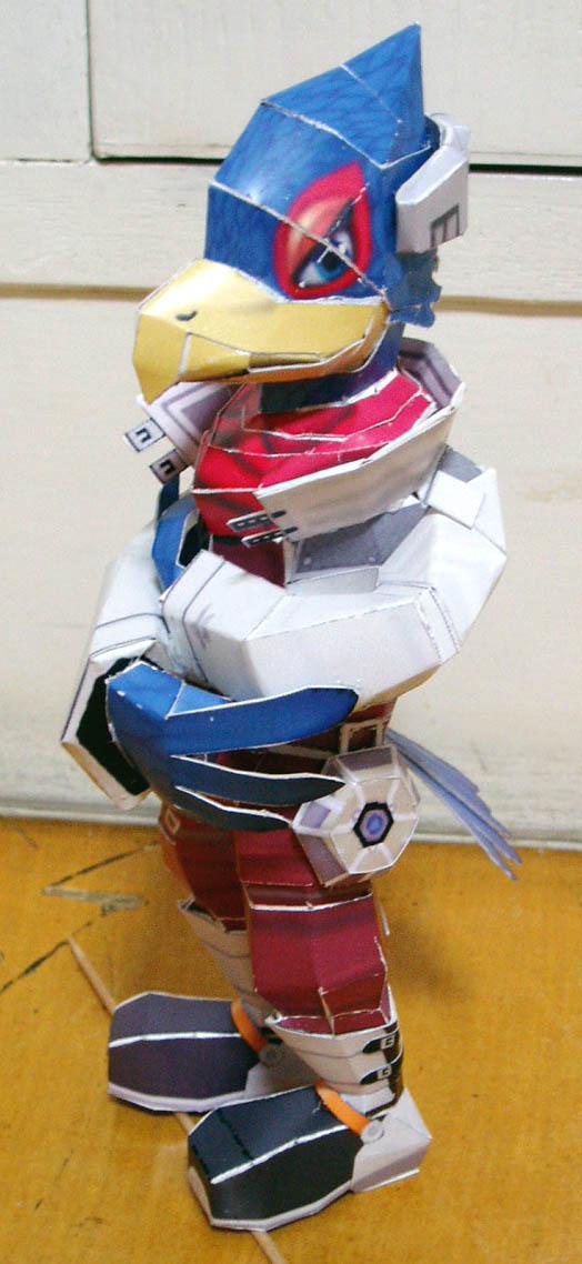 Falco Papercraft by togepi1125