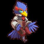 Falco Lombardi by Rabbity