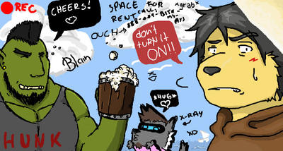 iscribble - Party at Seaside by asakiprivateroom