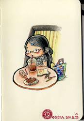 Costa cafe by rubyruby0729