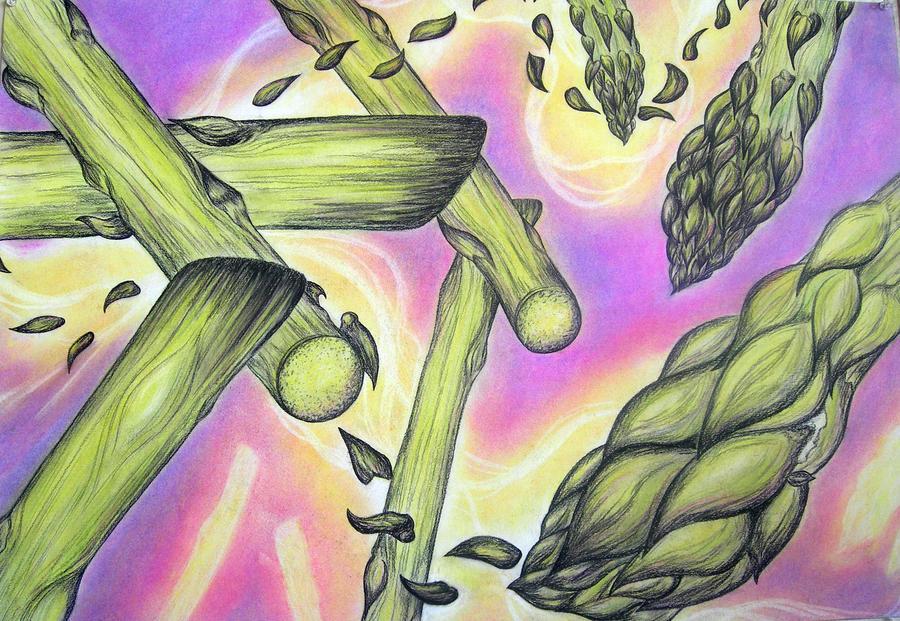 Asparagus by SeaPlume
