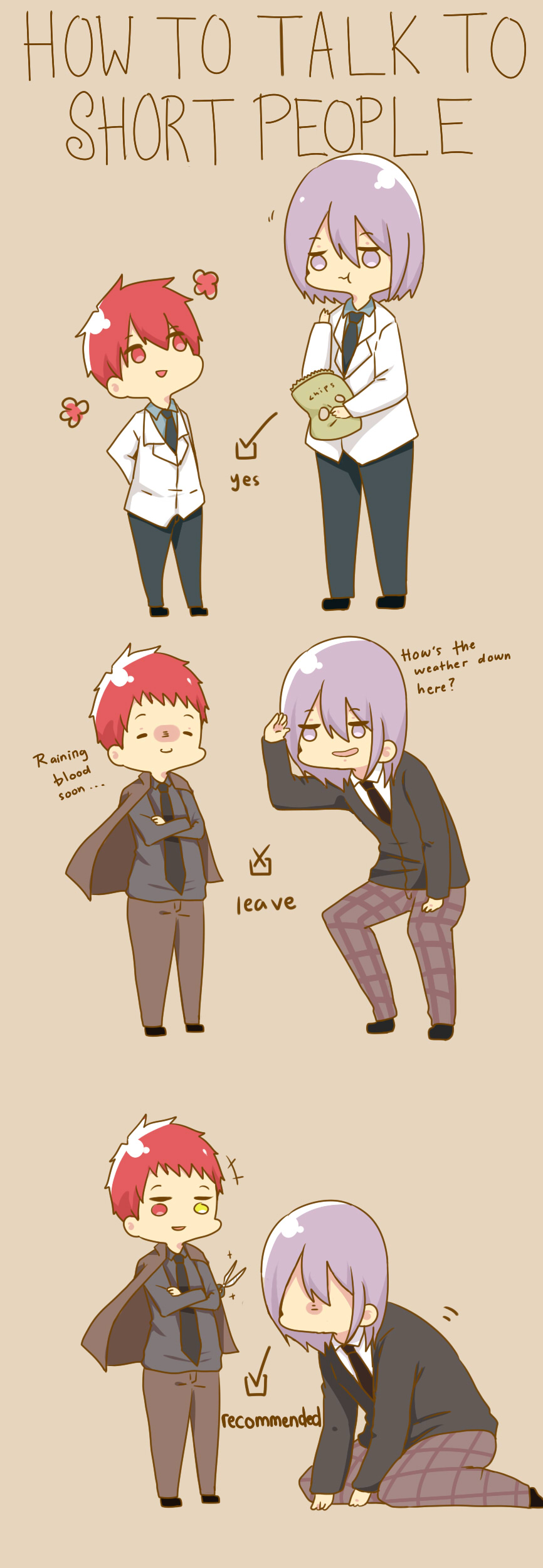 how to talk to short people -knb ver.- by s-haa on DeviantArt