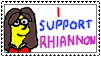 I support Rhiannon stamp by CardiGirl28