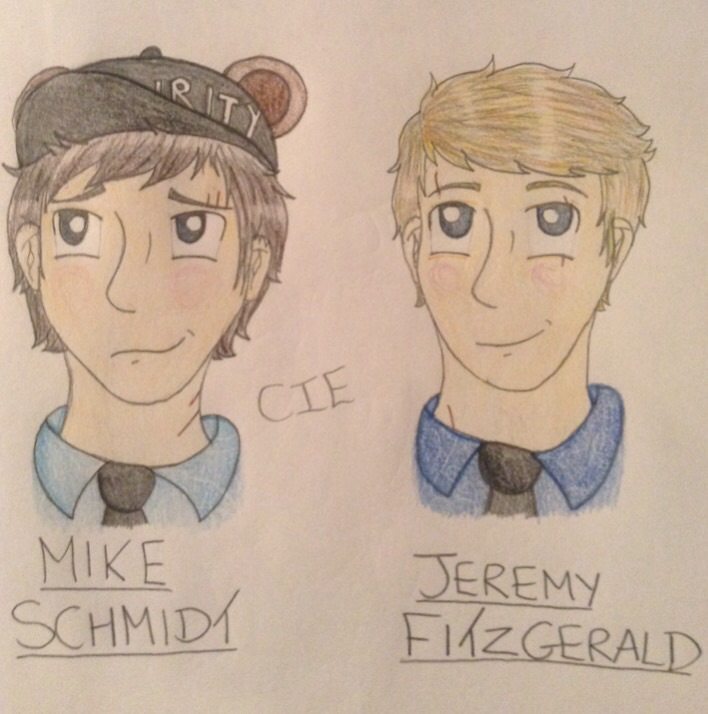 Schmidt and Fitzgerald by CardiGirl28