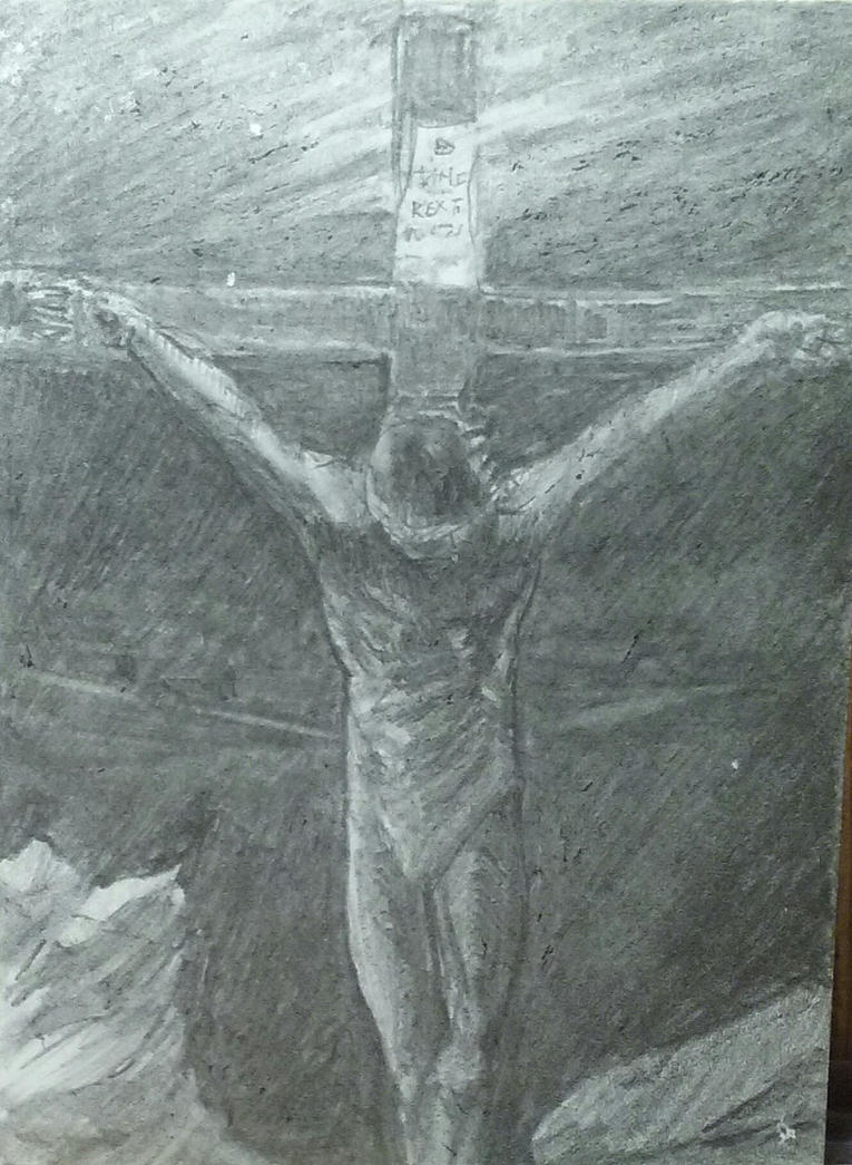 the crucifixion by DILDYHEART