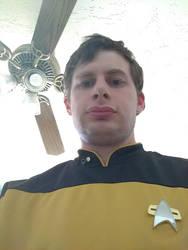 TNG Gold Uniform Selfie by ViperMk1SC