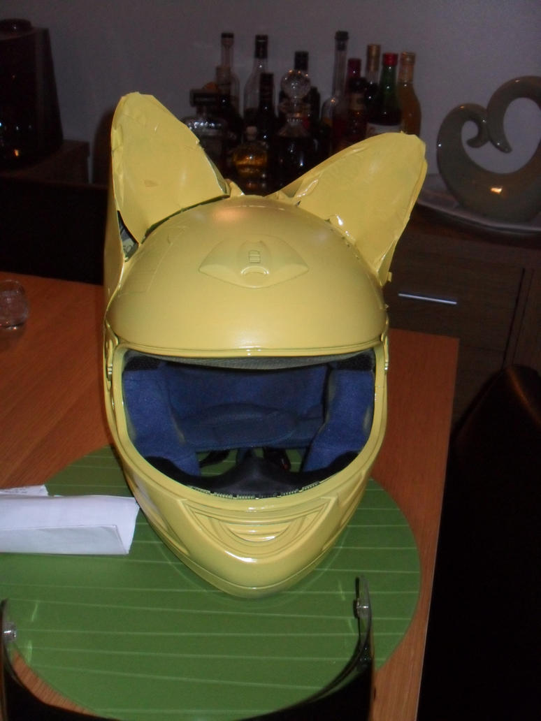 how to make celty helmet