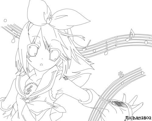 vocaloid seeu chibi coloring pages - photo#19
