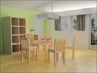 3d room by crazyfcuker