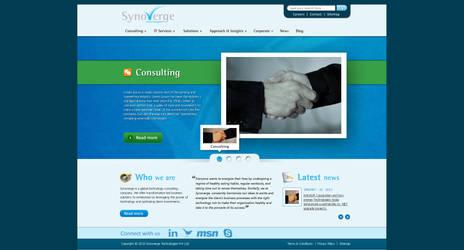 Synoverge Website by crazyfcuker