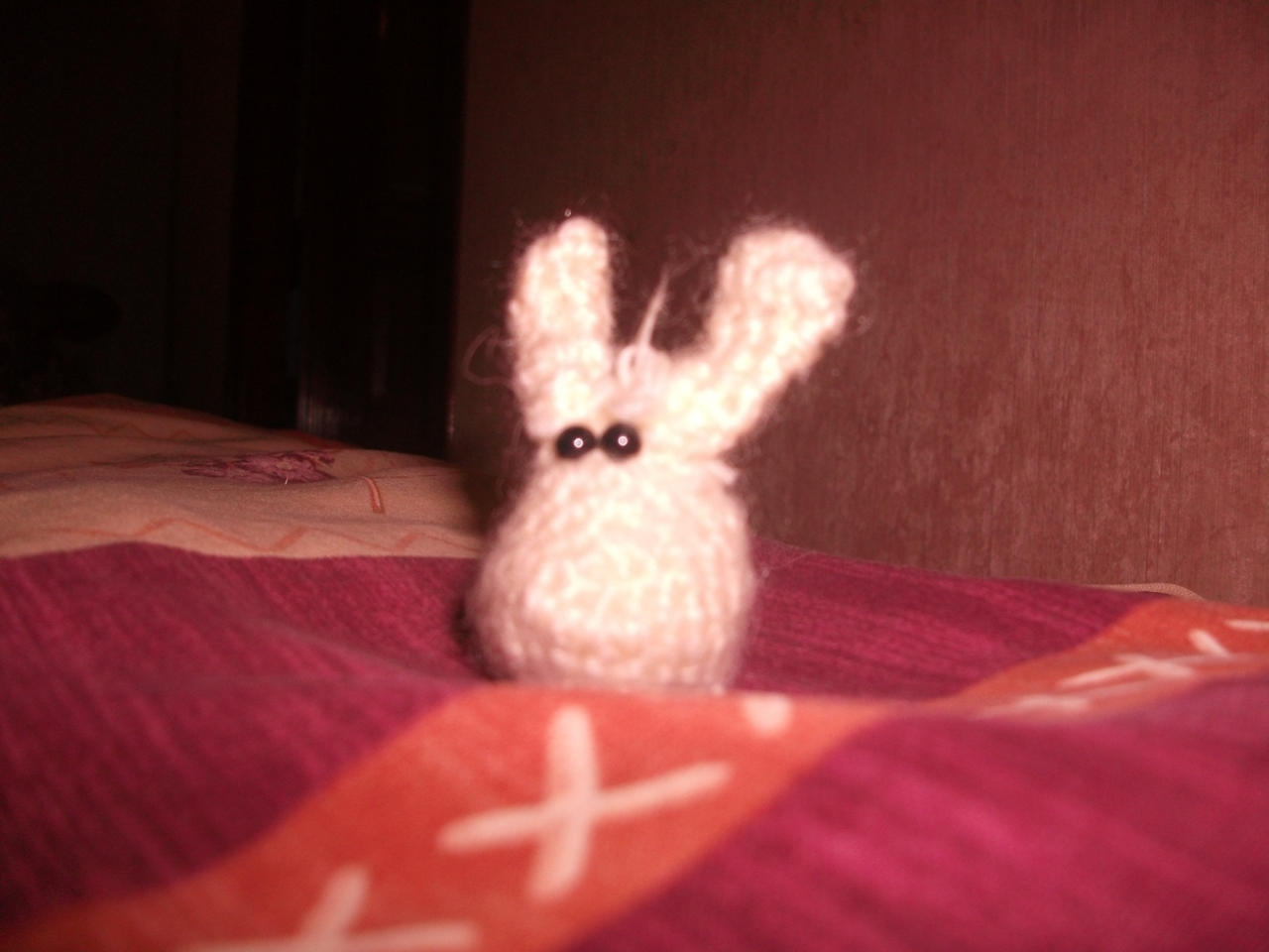Tchernobyl - Fluffy Rabbit Amigurumi
