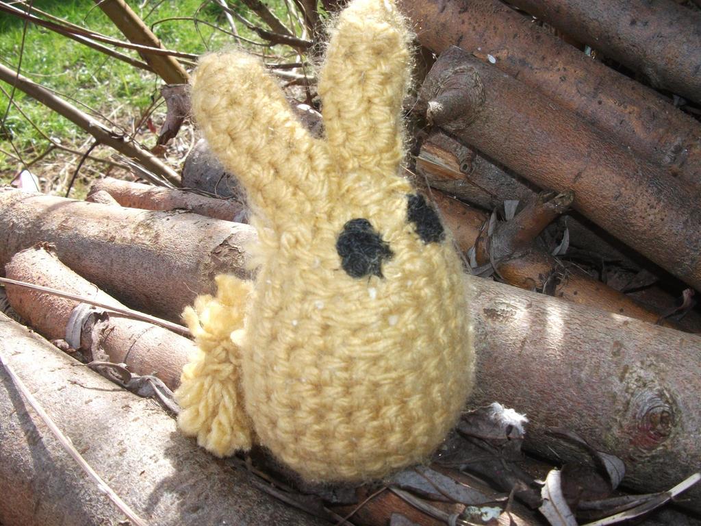 Fluffy Rabbit Amigurumi